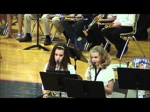 2012-05-XX - Unit 5 Schools Unit Band Concert: Parkside Junior High School Cadet Band