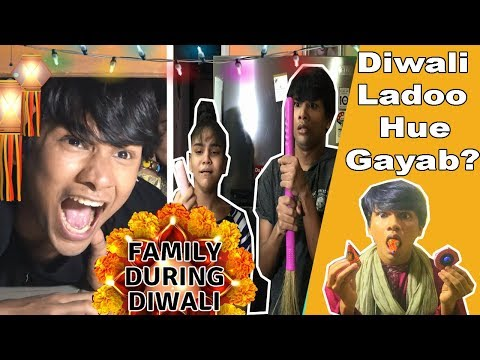 FAMILY DURING DIWALI | COMEDY VIDEO | DIWALI SPECIAL || MOHAK MEET || SWEETY || ANJALI