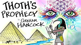 THOTH, der die PROPHEZEIUNG Lesen, die von den Hermetischen Texten von Graham Hancock