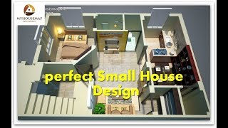 Indian Small House Beautiful Little 600 Sq Ft | Perfect Small House Design