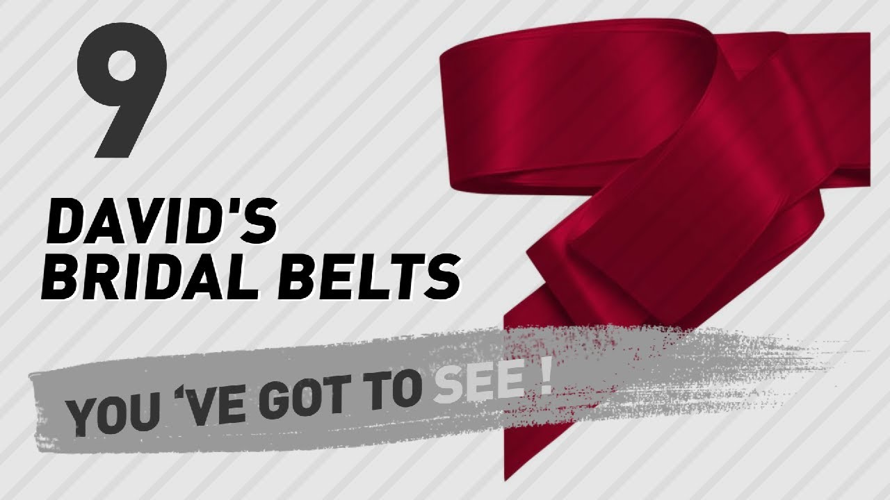 David S Bridal Belts New Popular 2017