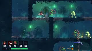 Nintendo Switch「Dead Cells」で敵の攻撃をパリィではねのけながら倒していく様子 thumbnail