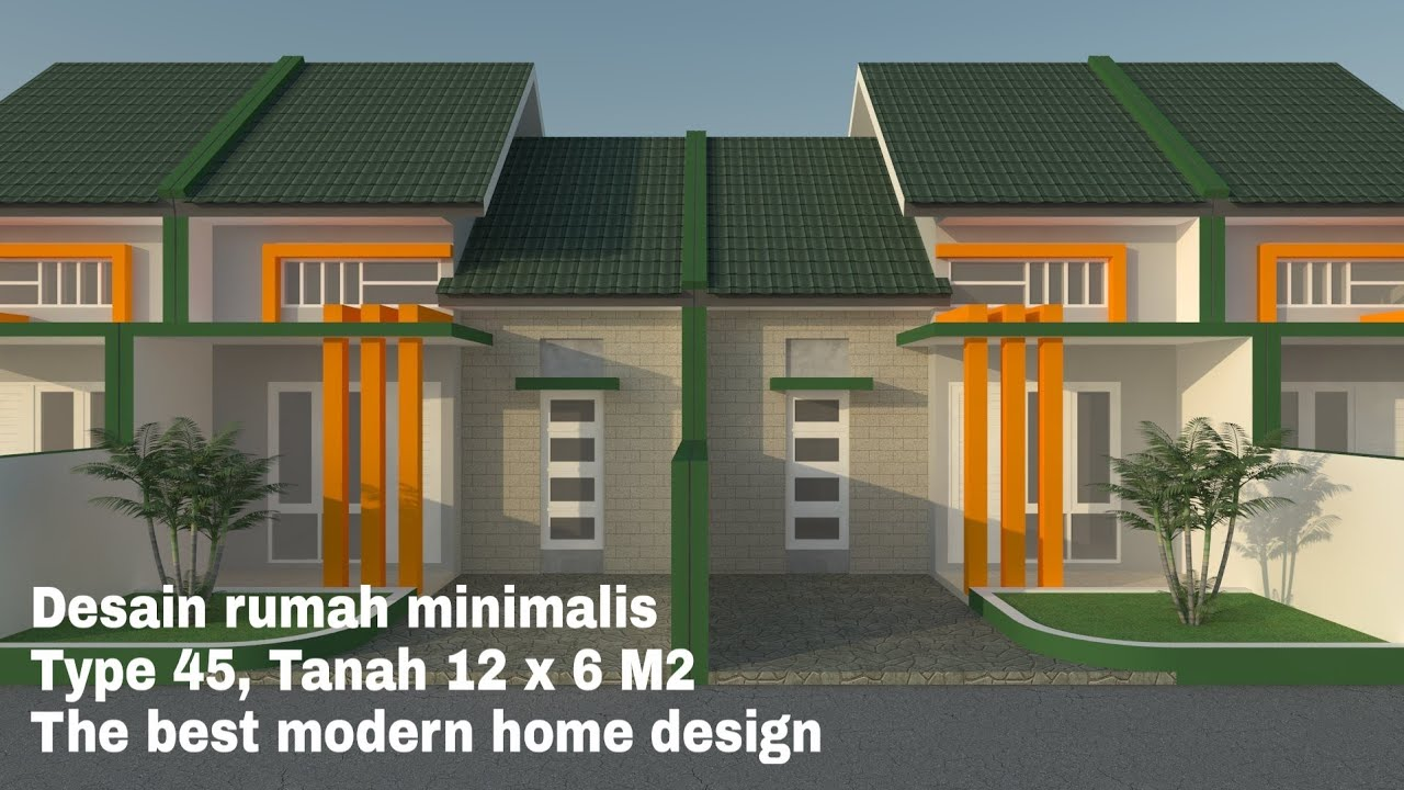 Rumah Minimalis 45 Desain Rumah Minimalis Type 45 The Best Modern Home Design