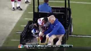 New York Giants - Victor Cruz Injury Oct. 12, 2014