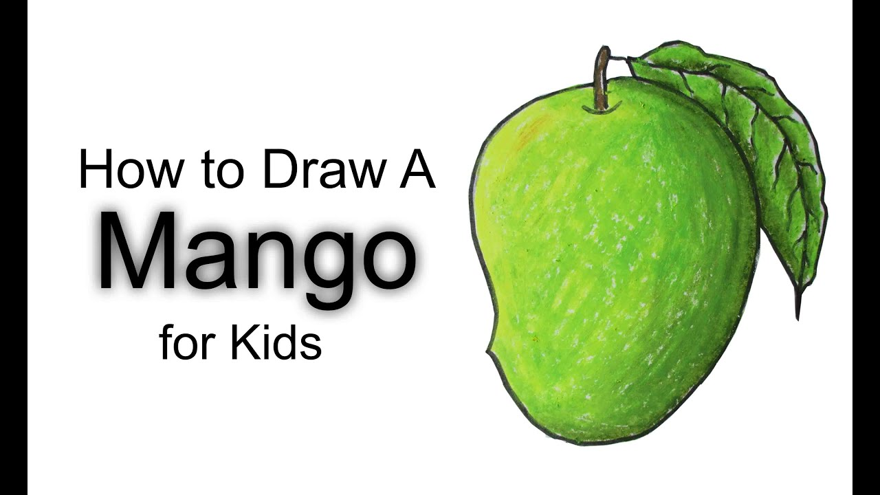 How To Draw A Mango Fruit Imgurl