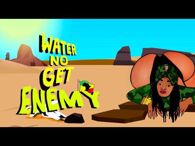 LORRAINE LIONHEART - WATER (visualiser)