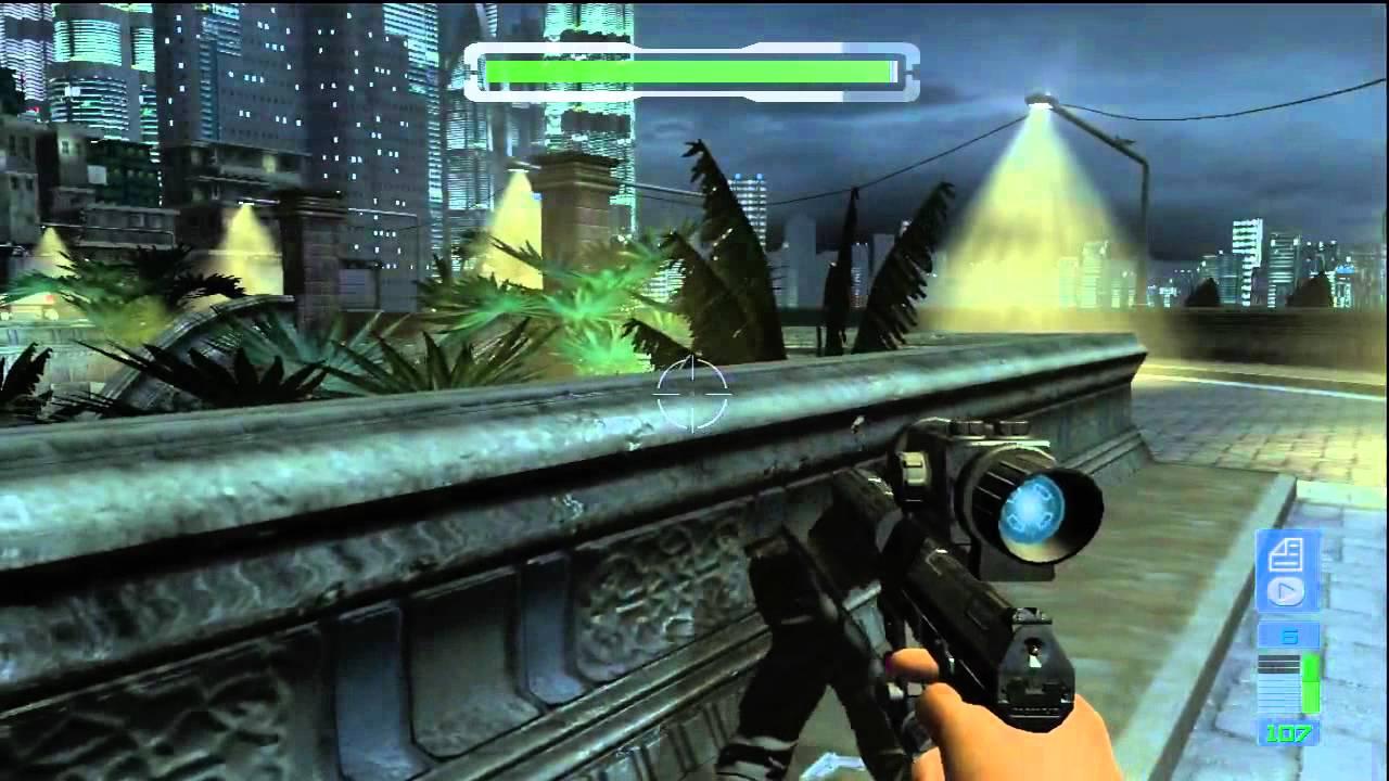 Perfect Dark Zero Gameplay Xbox 360 - YouTube