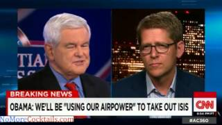 "Newt to Jay Carney: ""You can"