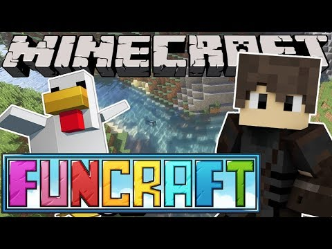 ATTACKED BY CHICKENS | Minecraft FunCraft...