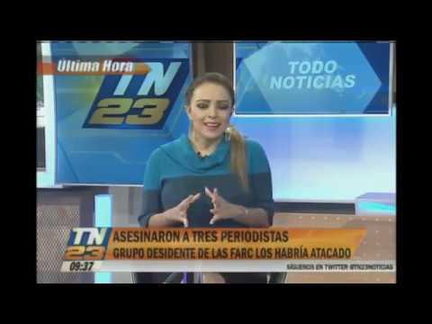 Filtran Foto de Muerte de Periodistas del Diario el Comercio