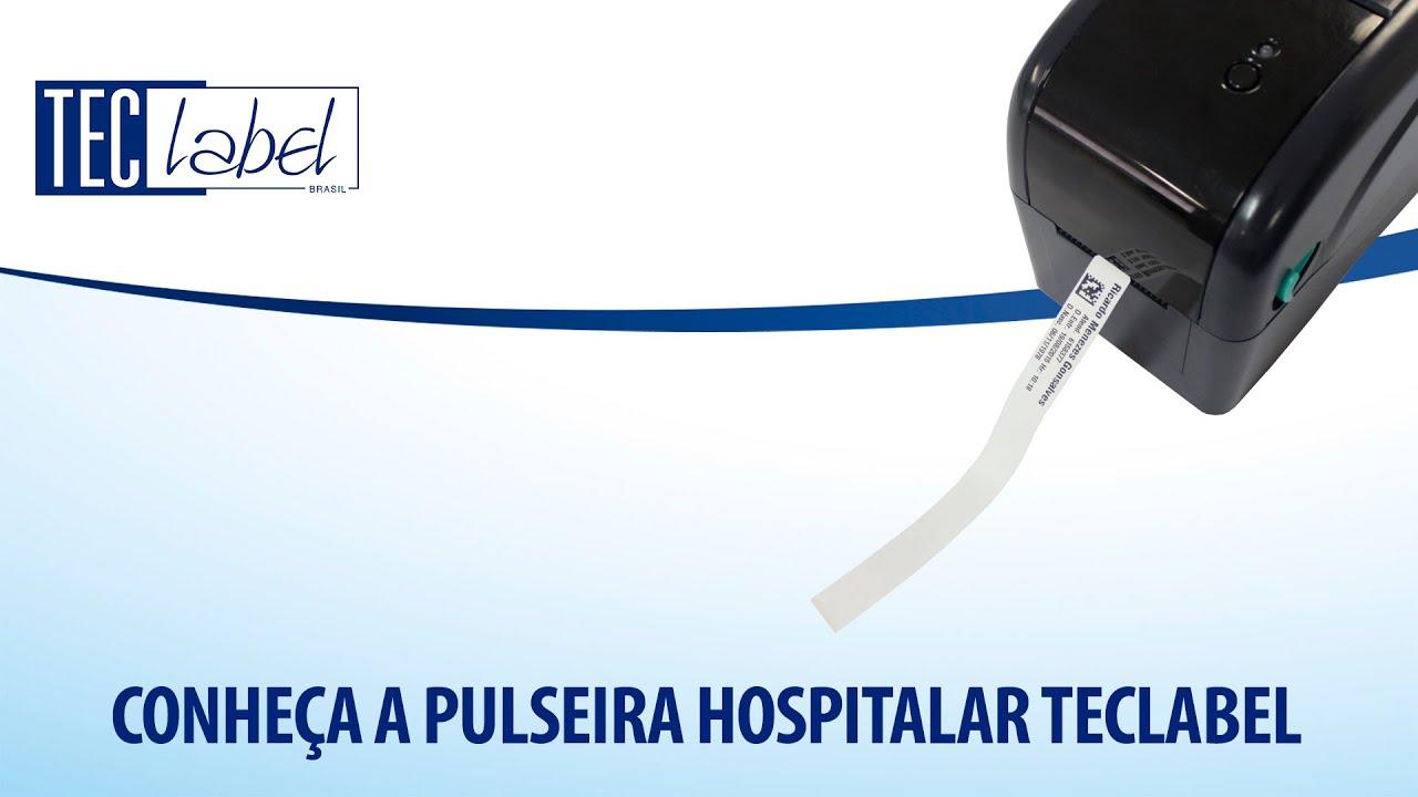 CONHEÇA A PULSEIRA HOSPITALAR TECLABEL
