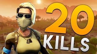 20 KILLS WITH THE NEW SKIN! PERSONAL RECORD! Fortnite