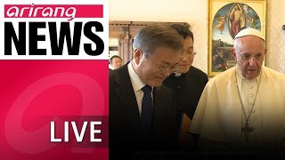 [LIVE/NEWS] Pope Francis expresses willingness to visit North Korea if officially invited
