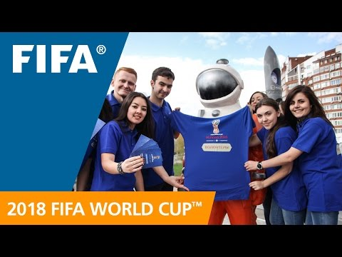 2018 World Cup Volunteer Programme Launches (RUSSIAN SUBTITLES)