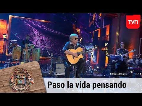 Paso la vida pensando - José Feliciano   Festival del huaso de Olmué 2019
