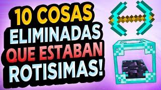 ✅ 10 Cosas ROTAS de Minecraft Exclusivas de Snapshots #5