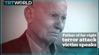 Father of far-right terror attack victim in Germany speaks