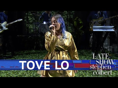 Watch Tove Lo's Wry Performance of 'Glad He's Gone' on 'Colbert'