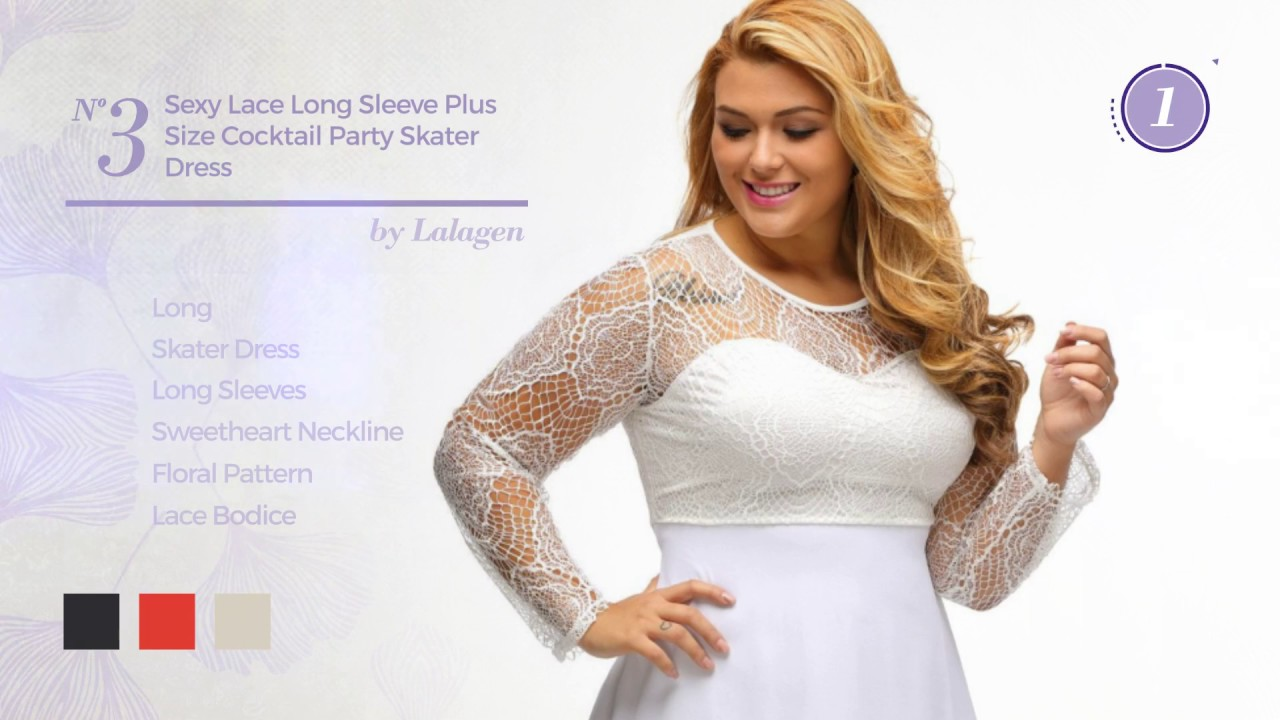 8 Elegant Plus Size White Lace Dresses Amazon Fashion 2017 Youtube