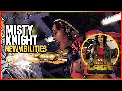 Misty Knight Bionic Arm What Does This Mean? What Can It Do?