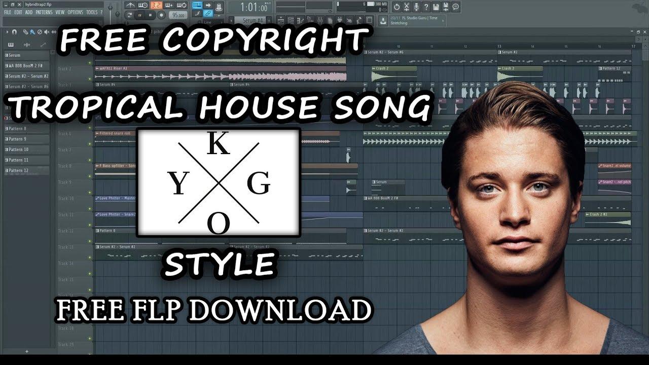 Free Copyright Tropical House FLP (Kygo Style) [By JesperJ] | Fl Studio (Free FLP Dwonload)