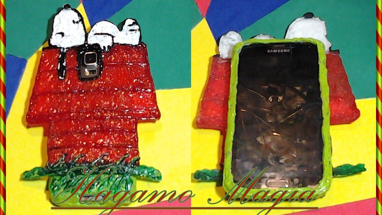 fa458cbd03b Funda Para El movil Snoopy Hecha de Silicon Caliente(Snoopy Mobile Case  Made Of Hot Silicon). do magic