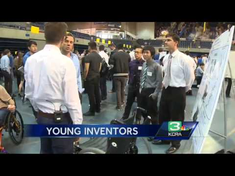 UC Davis engineer students show off inventions