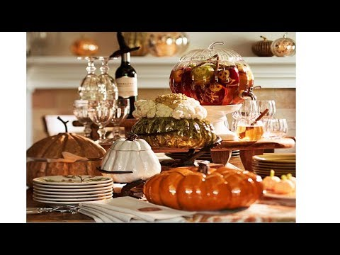 2017 Thanksgiving Table Decoration Ideas