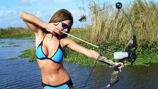 Ловля рыбы первобытным способом