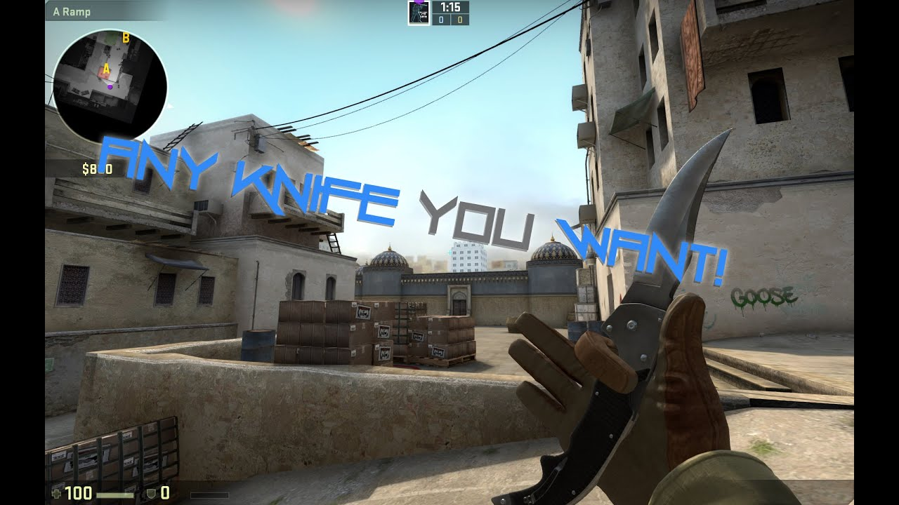 how to get any weapon in csgo