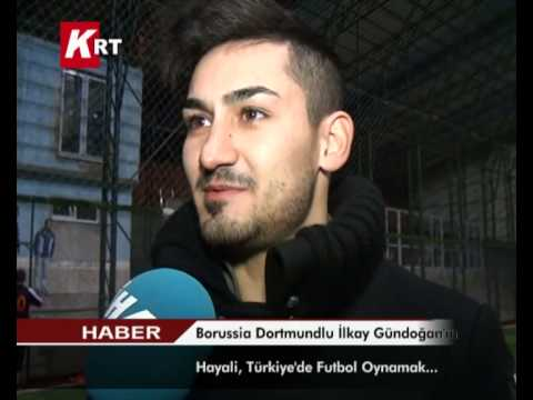 Borussia Dortmundlu İlkay Gündoğan'ın Hayali Türkiye'de Futbol Oynamak