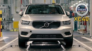 Volvo XC40 Production in Ghent, Belgium