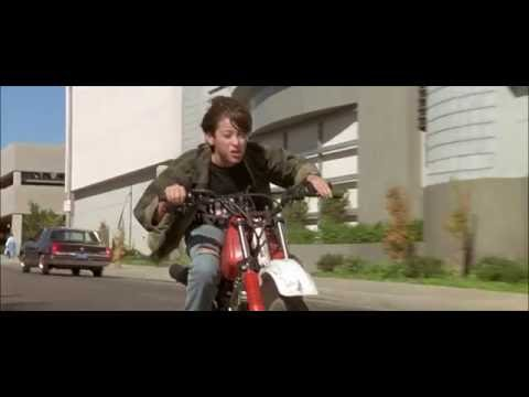 T2 John Connor Moto Scene
