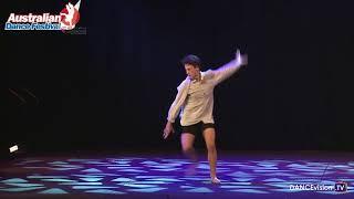 2017 Australian Dance Festival: Joshua Williams, Dance Around The World Solo Competition