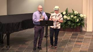 11/7/2020 - Special Music - Let All Things Now Living - Preston and Greg Davis
