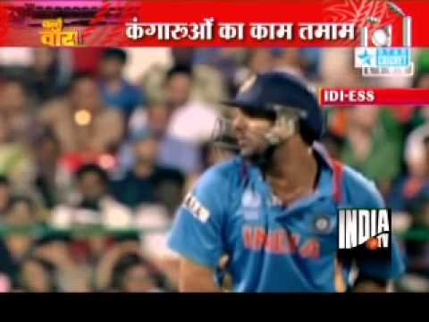 India vs Australia, World Cup 2011 Quarterfinal: India Win Match by 5wickets : Chak De Cricket