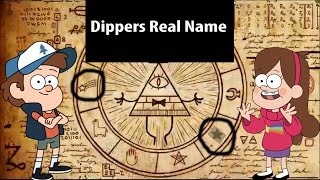 Gravity Falls Dippers Real Name Theory