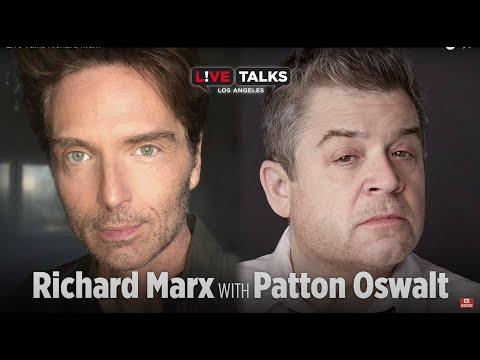 Richard Marx in conversation with Patton Oswalt at Live Talks Los Angeles