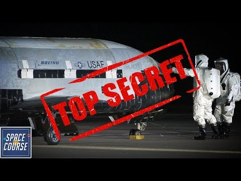 Secret Satellite Killer? - X37b Space Plane
