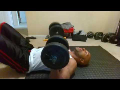 At Home Dumbbell Workout For Beginners Pt  1