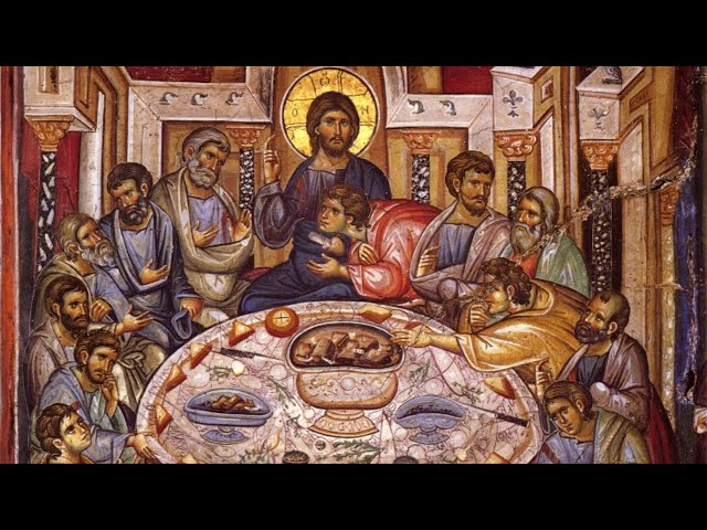 Vespers and Divine Liturgy of St. Basil for Great and Holy Thursday, April 9, 2020