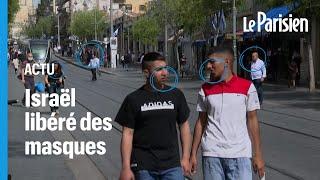 «On est libres, c'est un miracle» : les Israéliens heureux de faire tomber le masque en extéri