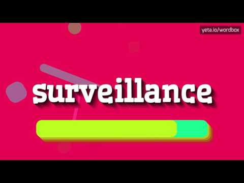 SURVEILLANCE - HOW TO PRONOUNCE IT!? (HIGH QUALITY VOICE)