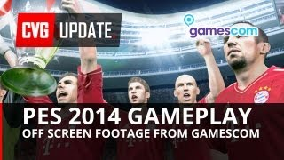 PES 2014 Gameplay from Gamescom 2013 (PS3)