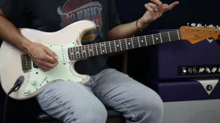 Pink Floyd - Shine On You Crazy Diamond - Guitar Lesson - Part 3 - Solo