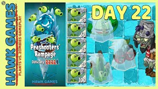 Plants vs Zombies 2 Peashooters' Rampage Frostbite Caves 22