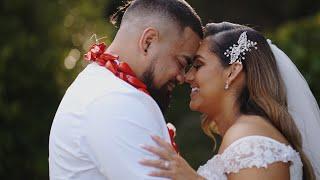 Alencia Wedding Reception | Wedding Highlights | Emily + Jamal