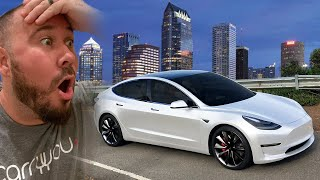 Getting My Brand New Car! (2020 Tesla Model 3 Performance Delivery)