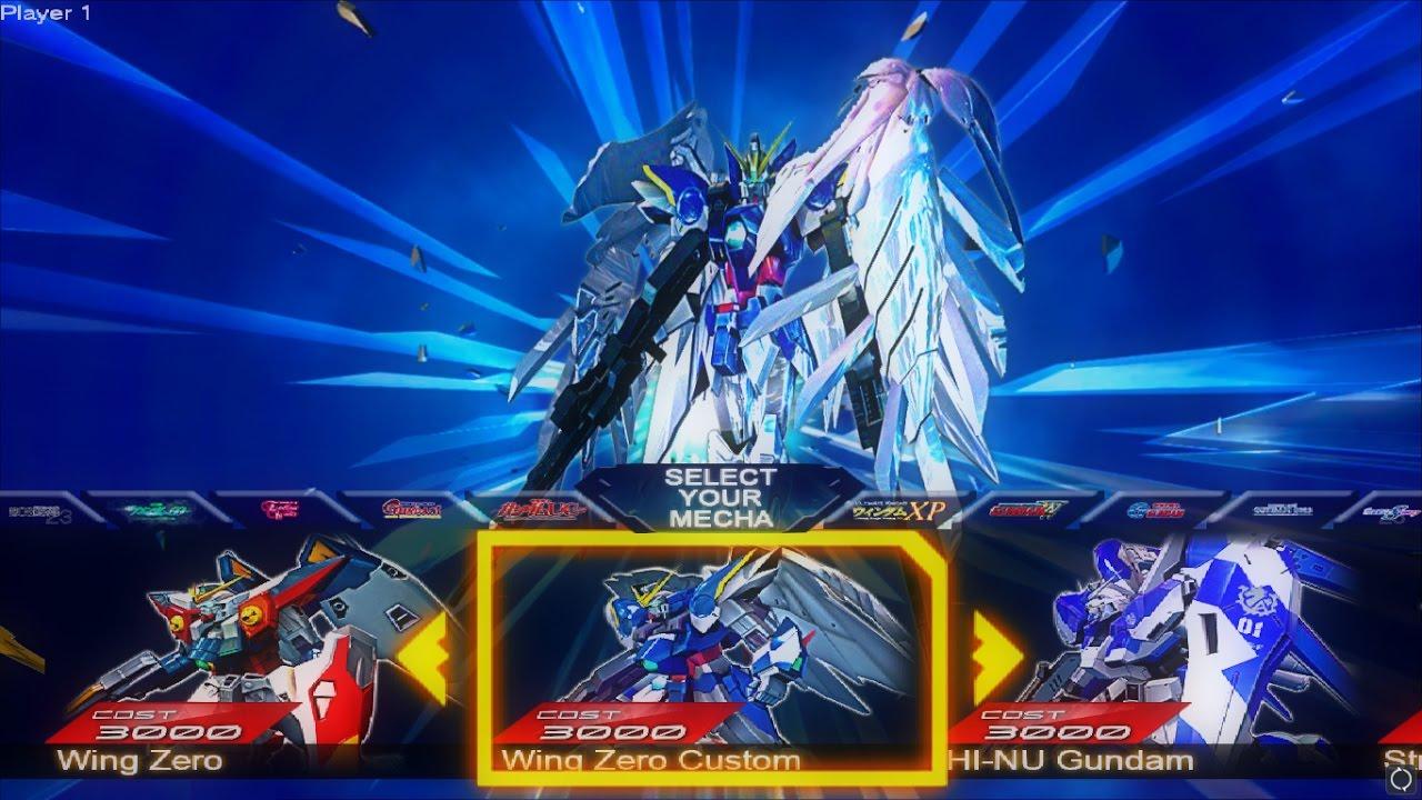 Gundam Versus Mod - Wing Zero Custom - YouTube