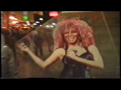 İNGİLTERE - LONDRA -  GECE DE  Piccadilly MEYDANINDAYIZ - (Yıl-1991) -- VTS 02 4